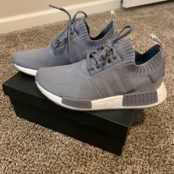 adidas Shoes   Adidas Nmd R Triple Grey